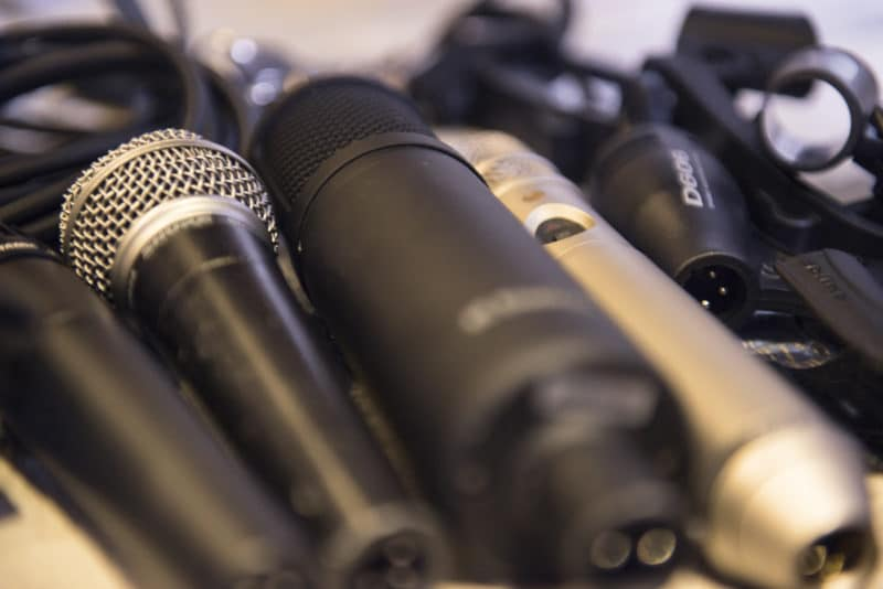 Some microphones